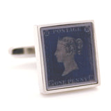 POSTAGE STAMP BLUE