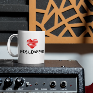 Heart Follower Mug