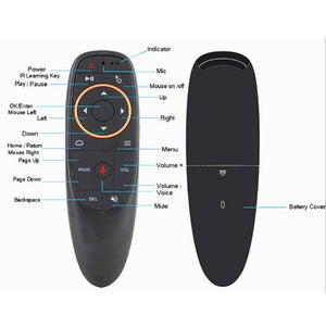 Android TV box voice remote control G10 2.4ghz wireless smart remote