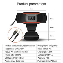 Load image into Gallery viewer, High Quality Full HD 1080P USB Web Camera Live Broadcasting PC Video Webcam Camera