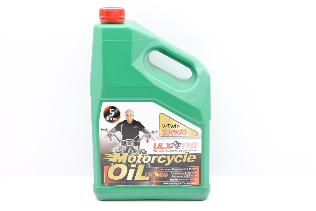 ULX 110 Motorcycle Oil V-Twin 20W50 - 5LTR
