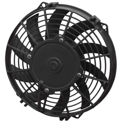 "Spal - 12"" Electric Thermo Fan 938 cfm - Pusher Type With Curved Blades"