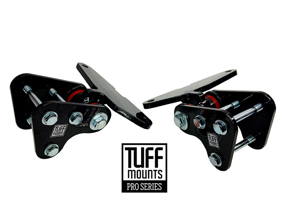 Tuff Mounts Engine Mounts for MUSTANG, COUGAR & Early Falcon