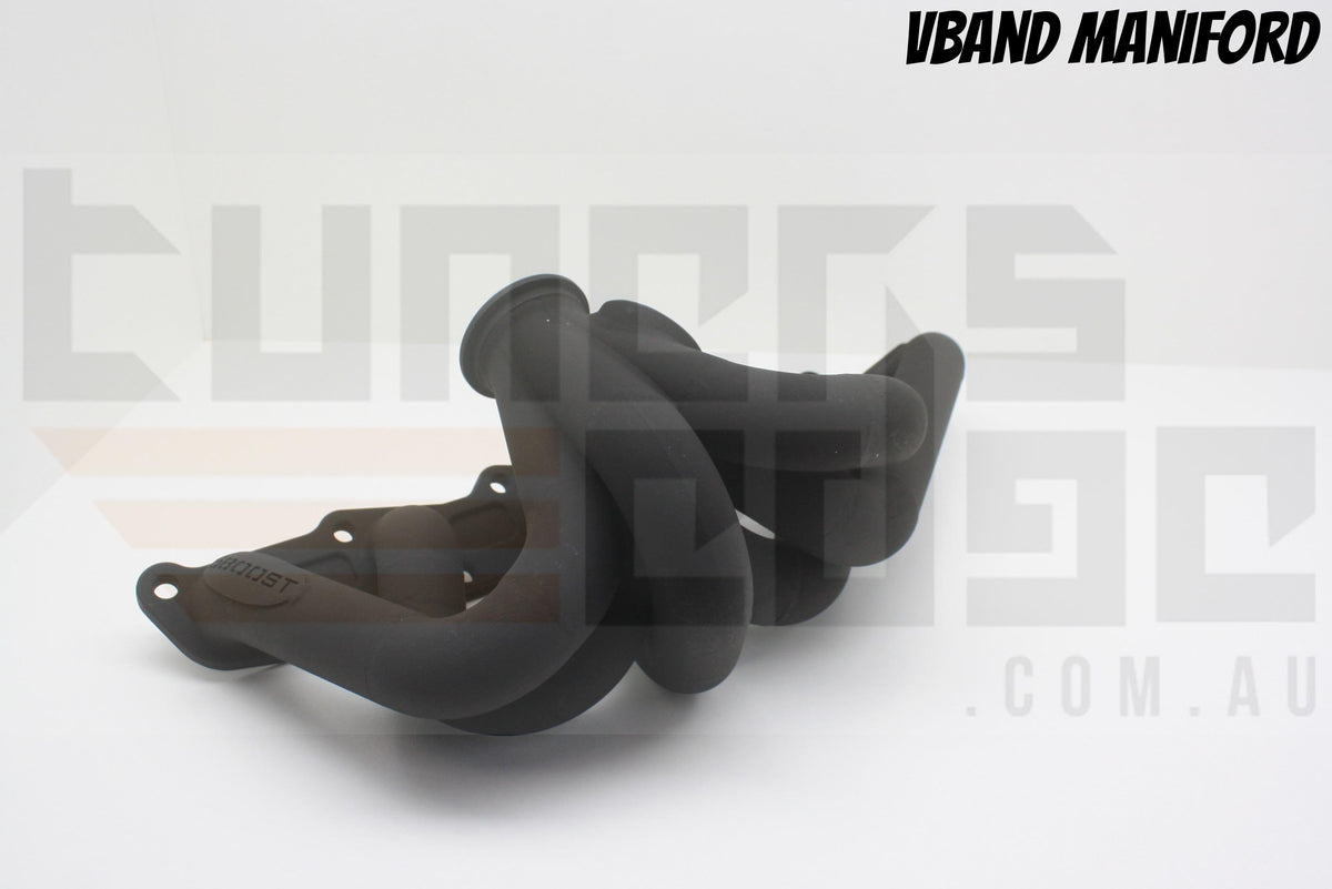 6Boost Manifolds - Nissan TB48 Top Mount Manifold