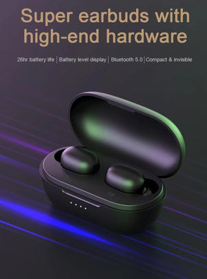 HD BLUETOOTH WIRELESS EARPHONES
