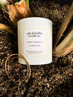Caribbean Gold Scented Soy Wax Candle