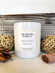 all natural soy wax scented candle travel inspired