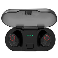 Load image into Gallery viewer, 5.0 Tws True Wireless Earbuds With Charging Case Bank 2018