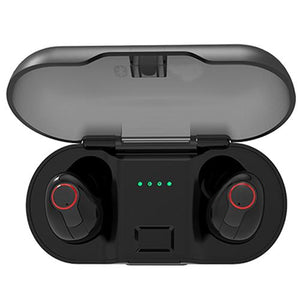 5.0 Tws True Wireless Earbuds With Charging Case Bank 2018