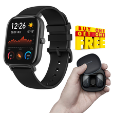 Load image into Gallery viewer, Buy Amazfit Xiaomi Huami Bip GPS IP68 Waterproof Smart Watch & Get smart Wireless Bluetooth Earbuds Free
