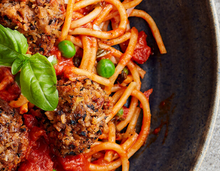 Load image into Gallery viewer, Diavolo Spaghetti Seitan Balls Swap