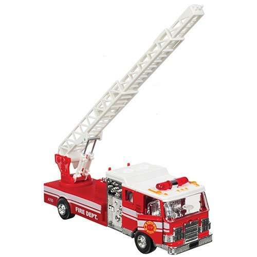 Die Cast Fire Truck Light & Sound