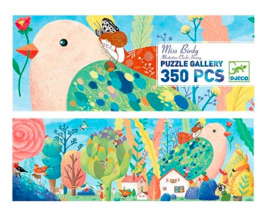 Miss Birdy Gallery Puzzle 350 pc.