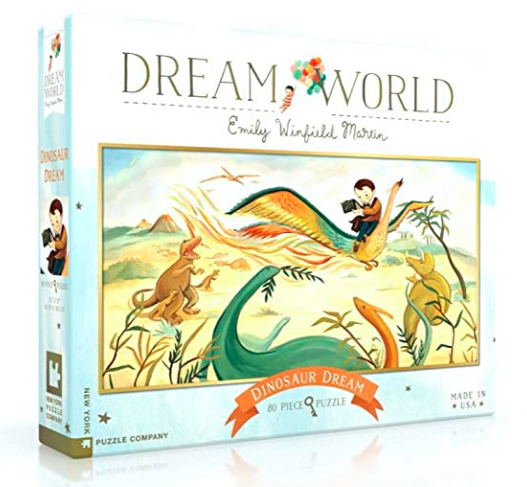 Dream Dinosaur Puzzle 80 pc.