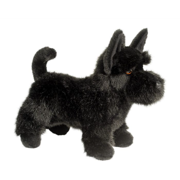 Winslow the Black Scottie dog