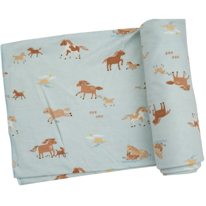 Horse Lovers Swaddle