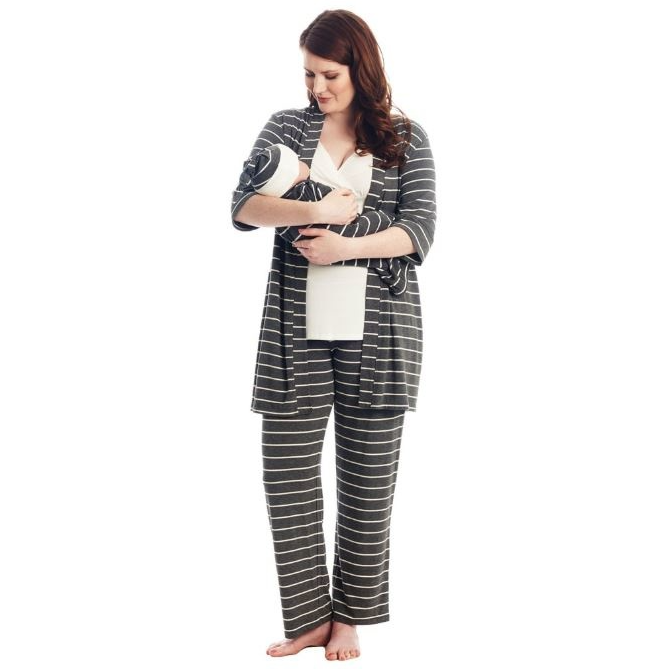 Nursing Robe and PJ Set