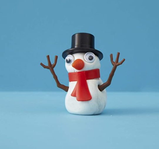 Melting Snowman in Tin