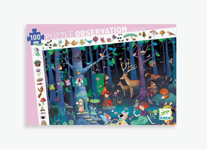 Enchanted Observation 100pc Puzzle