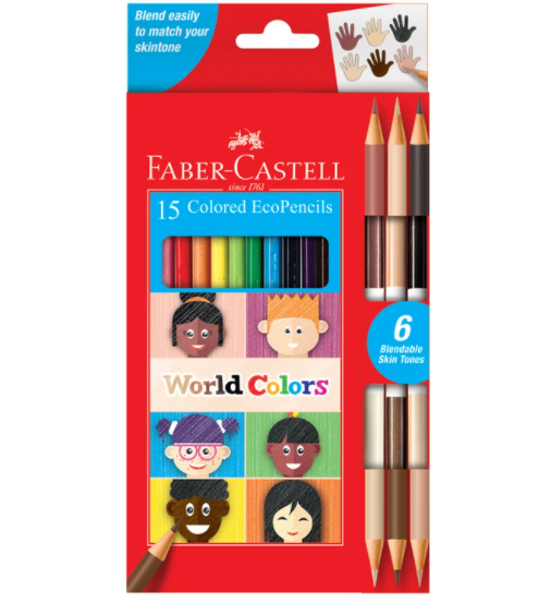 Colored Pencils World Colors-15 Count