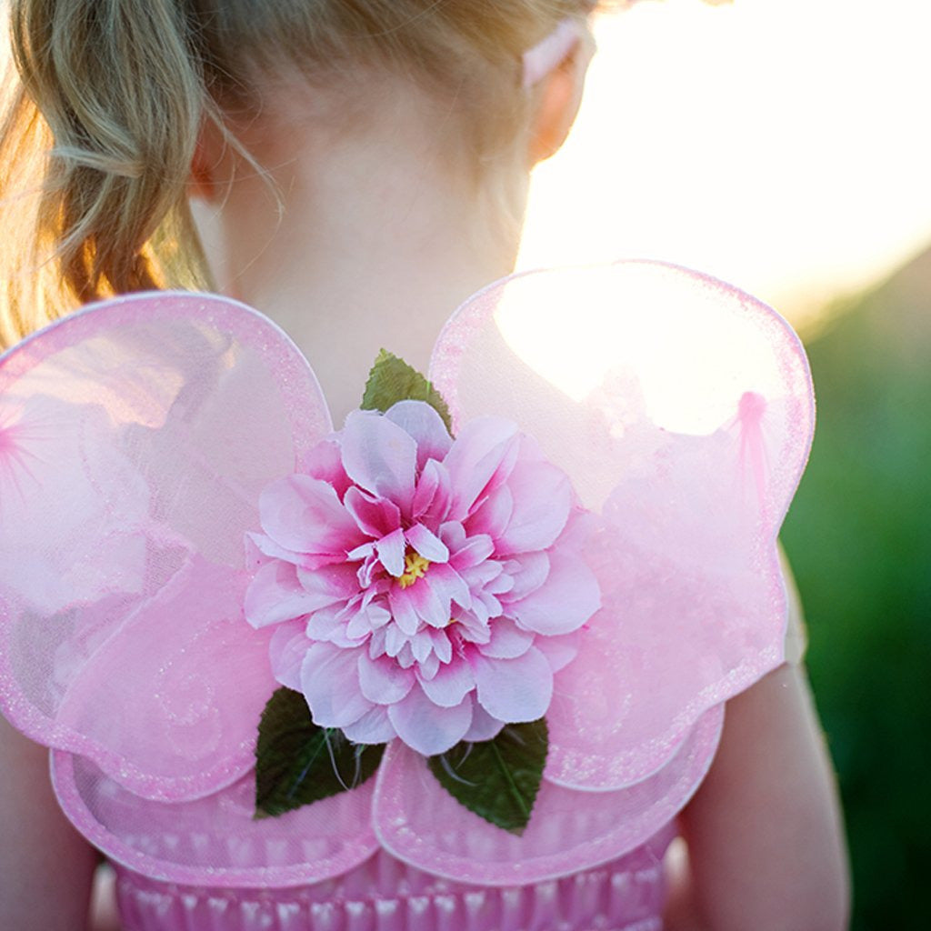 Fairy Dress Pink Blooms Costume