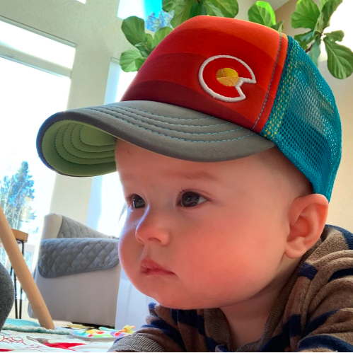 Infant Sunset Fader Trucker Hat