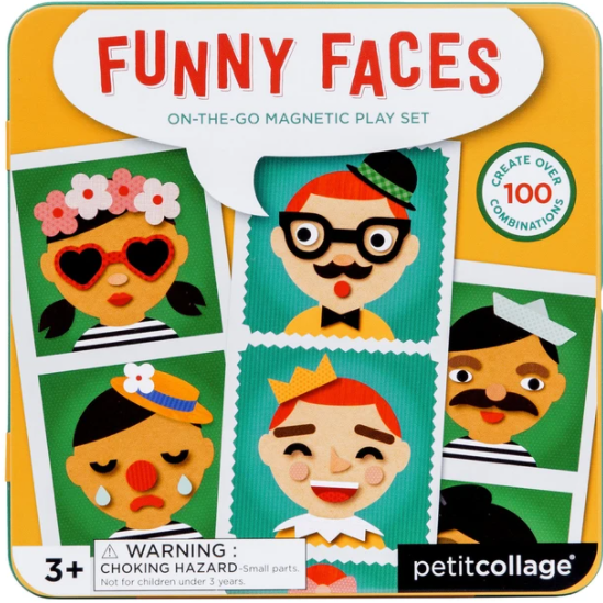 Funny Faces Magnetic Playset