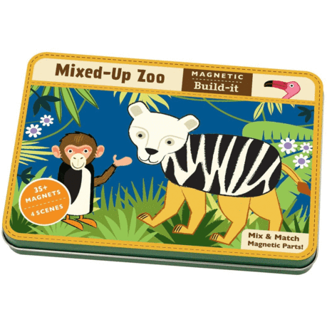 Mixed up Zoo Magnetic Build-It
