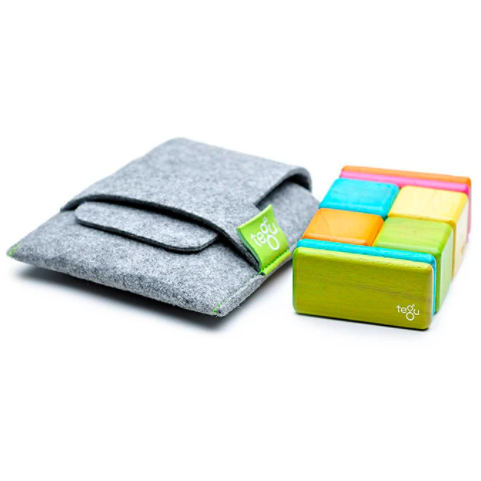 Tegu Magnetic Building Blocks Pocket Pouch