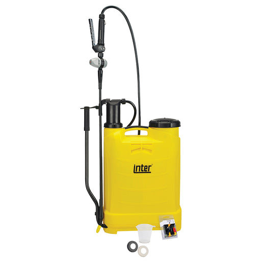 16 litre Inter Evolution knapsack sprayer.  WEIGHT: 3.8kg