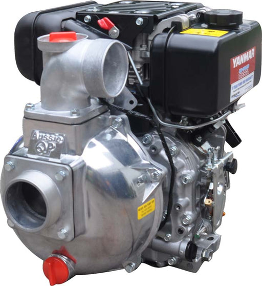 3'' YANMAR DIESEL GUSHER. 7HP ELECTRIC START. 1000 L/MIN MAX.. *** FREE DELIVERY***