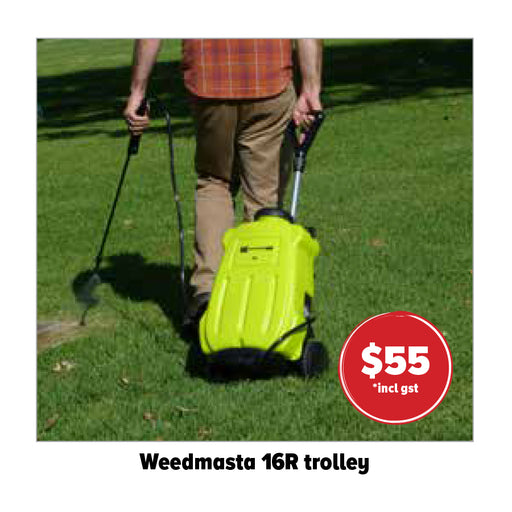 WEEDMASTER TROLLEY SUITABLE FOR THE WEEDMASTER BACKPACK