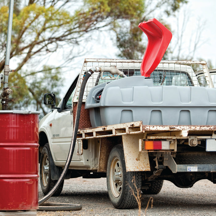 800 Litre Essential Ute pack with 50 l/min diesel pump