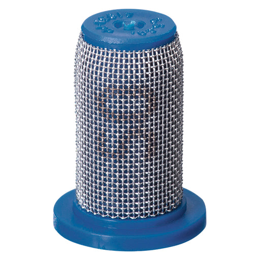 TEEJET TIP STRAINER - PP W/SS SCREEN 50 MESH BLUE