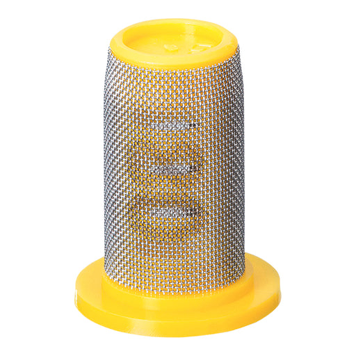 TEEJET TIP STRAINER - PP W/SS SCREEN 80 MESH YELLOW
