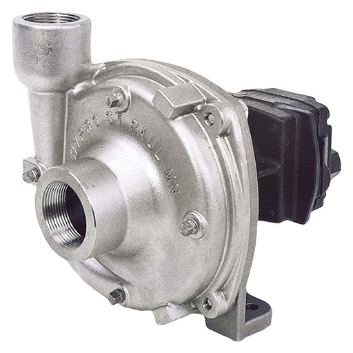 HYPRO STAINLESS HYD DRIVEN PUMP (OIL FLOW 41-49 LPM) 424 L/MIN. 8.3 BAR. INLET 1 1/2''. OUTLET 1 1/4''