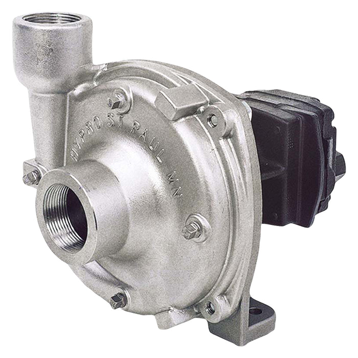 HYPRO STAINLESS HYD PUMP (OIL FLOW 15-22 LPM) 365 L/MIN. 5.5 BAR. INLET 1 1/2''. OUTLET 1 1/4''