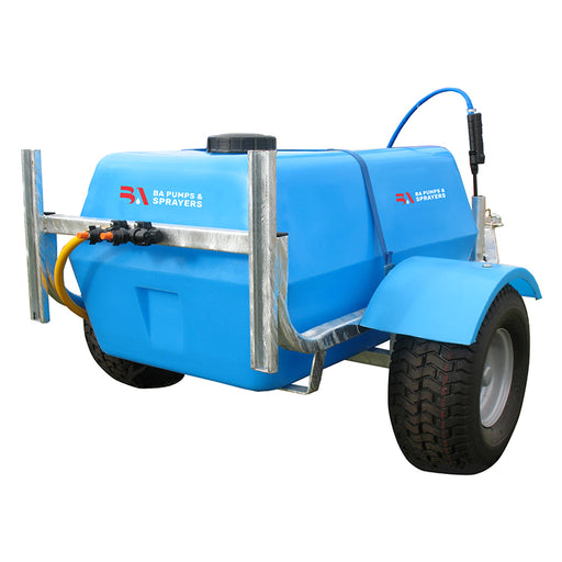 200 LITRE TRAILER PACK, POLY 30L/MIN 20 BAR PUMP, 30 EZI REEL WITH AA30L GUNJET AND 8'' LANCE