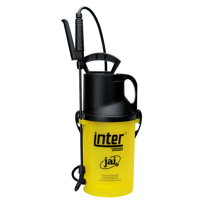 5 litre Inter JAI 7 compression sprayer with AHL001 spray lance.  WEIGHT: 1.3kg