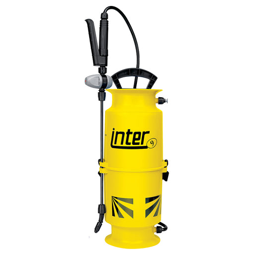 6 litre Inter 9 compression sprayer with AHL001 spray lance.  WEIGHT: 2kg