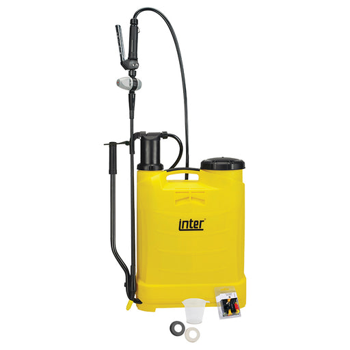 12 litre Inter Evolution knapsack sprayer.  WEIGHT: 3.3kg