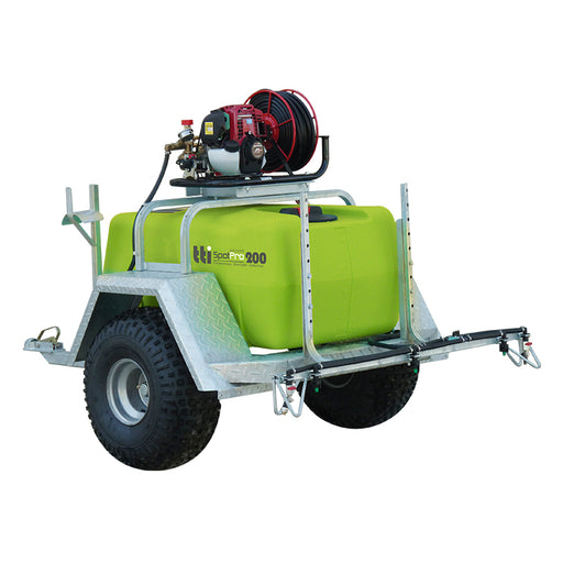 200 LITRE SPOTPRO DELUXE ATV TRAILER + PUMP AND EXTRAS. ***FREE FREIGHT***