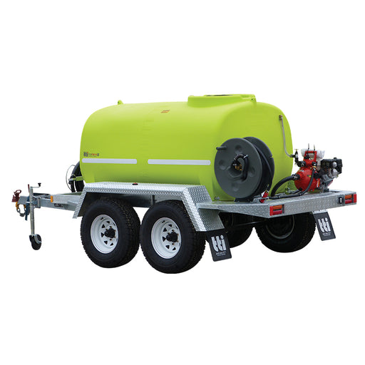2400L  FIREPATROL15 REGISTERABLE TRAILER WITH PUMP +EXTRAS. ***FREE FREIGHT***