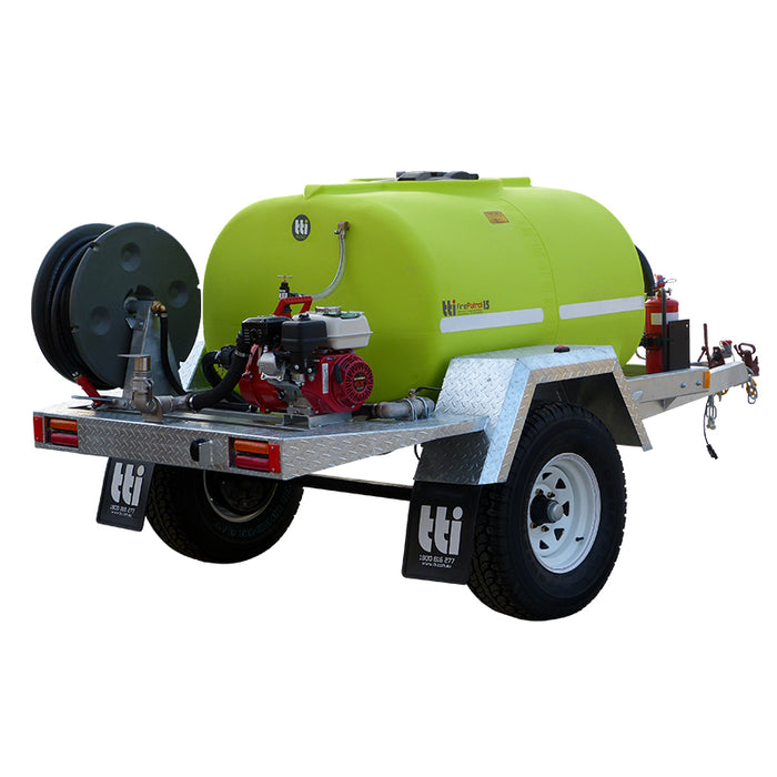 600L FIREPATROL15 ON FARM TRAILER WITH PUMP AND EXTRAS. ***FREE FREIGHT***