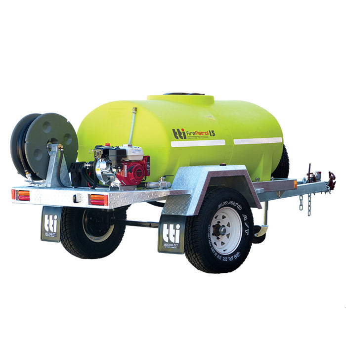 1200 LITRE FIREPATROL15 FARM TRAILER WITH PUMP AND EXTRAS. ***FREE FREIGHT***
