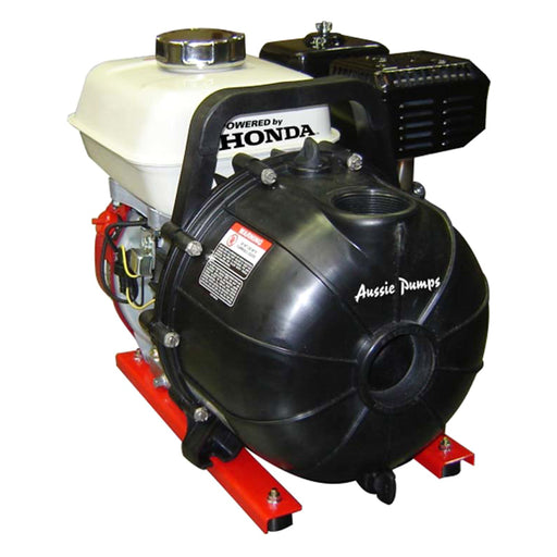 AUSSIE PUMPS 2'' POLY PUMP.  EPDM SEALS. 835 L/MIN. HONDA GX200. - *** FREE DELIVERY***