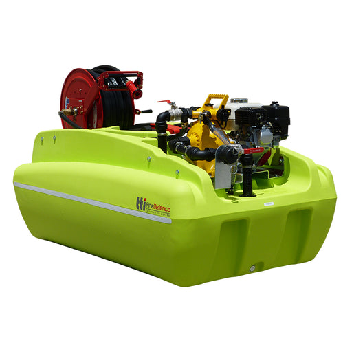 600 LITRE FIREDEFENCE FIREFIGHTING UNIT WITH PUMP AND EXTRAS ***FREE FREIGHT***