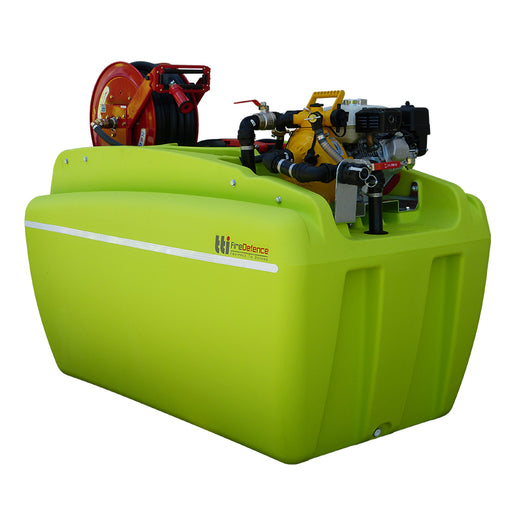 1000 LITRE FIREDEFENCE UNIT WITH PUMP +EXTRAS. ***FREE FREIGHT***