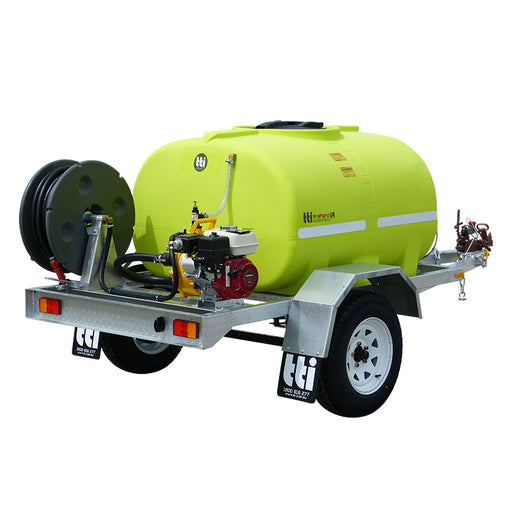 1000L FIREPATROL14 ROAD REGISTERABLE TRAILER, WITH EXTRAS. ***FREE FREIGHT***