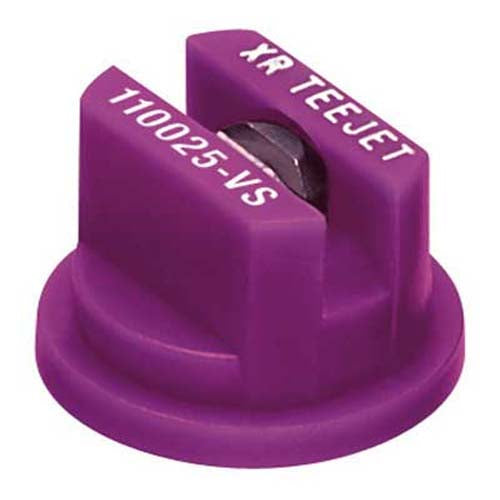 Teejet Xr Spray Nozzles...Sizes 015(Green) To 06 (Grey)